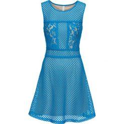 Sukienki: Sukienka letnia bonprix niebieski capri