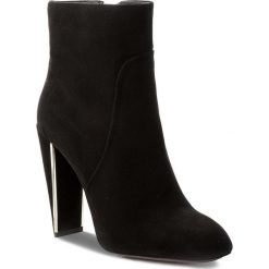 Botki GINO ROSSI - Naomi DBG730-M43-4900-9900-F 99. Czarne buty zimowe damskie marki Gino Rossi, z materiału. W wyprzedaży za 299,00 zł.