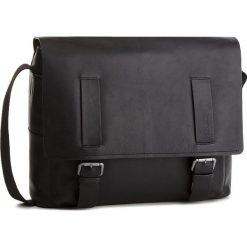 Torba na laptopa STRELLSON - Turnham 4010002206 Black 900. Czarne torby na laptopa marki Strellson, ze skóry. W wyprzedaży za 649,00 zł.