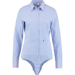 Bluzki body: Seidensticker Body blau