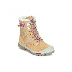 Śniegowce Superdry  EIGER BOOT. Brązowe buty zimowe damskie Superdry. Za 263,20 zł.
