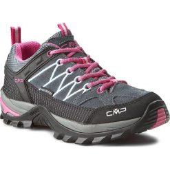 Buty trekkingowe damskie: Trekkingi CMP - Rigel Low Wmn Treking Shoe Wp 3Q13246 Grey/Fuxi 103Q