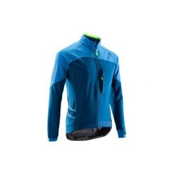 Koszulka na rower MTB ST 500 męska. Niebieskie kurtki męskie bomber ROCKRIDER, m. Za 199,99 zł.