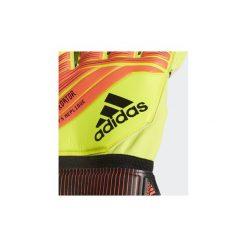 Rękawiczki adidas  Rękawice bramkarskie Predator Fingersave Replique. Żółte rękawiczki damskie marki Adidas. Za 199,00 zł.