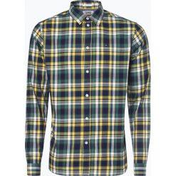Tommy Jeans - Koszula męska, żółty. Żółte koszule męskie jeansowe marki Tommy Jeans, m, w kolorowe wzory. Za 249,95 zł.