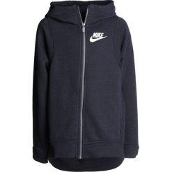 Nike Performance HOODIE Bluza rozpinana black. Brązowe bluzy chłopięce rozpinane marki N/A, w kolorowe wzory. W wyprzedaży za 167,30 zł.