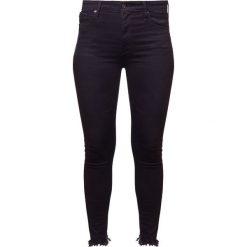 Boyfriendy damskie: AG Jeans Jeans Skinny Fit black denim