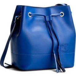 Torebka CREOLE - K10239 Kobalt. Niebieskie torebki worki Creole, ze skóry. W wyprzedaży za 219,00 zł.