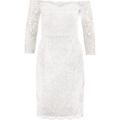 Swing Sukienka koktajlowa cremeweiß. Białe sukienki koktajlowe marki Swing, z elastanu. W wyprzedaży za 401,40 zł.