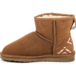 Buty zimowe damskie: ESKIMOSKI ZE SKÓRY