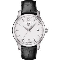 RABAT ZEGAREK TISSOT T-CLASSIC T063.210.16.037.00. Szare zegarki damskie TISSOT. W wyprzedaży za 1012,00 zł.