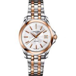 PROMOCJA ZEGAREK CERTINA LADY QUARTZ C004.210.22.036.00. Szare zegarki damskie CERTINA, ze stali. W wyprzedaży za 1839,20 zł.
