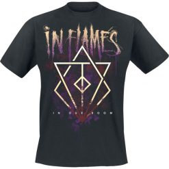In Flames In Our Room T-Shirt czarny. Czarne t-shirty męskie z nadrukiem In Flames, xxl, z okrągłym kołnierzem. Za 74,90 zł.