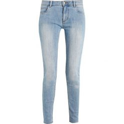Monkee Genes MONROE CROPPED Jeans Skinny Fit light blue denim. Niebieskie jeansy damskie Monkee Genes. Za 359,00 zł.