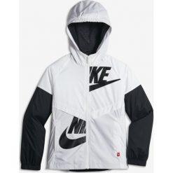 Kurtka Nike NSW Girls Windrunner (830506-100). Białe kurtki dziewczęce marki 4F JUNIOR, na lato, z materiału. Za 99,99 zł.