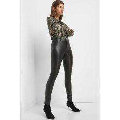 Spodnie skinny. Brązowe rurki damskie marki Orsay, s, z dzianiny. Za 79,99 zł.