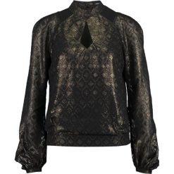 Bluzki asymetryczne: Karen Millen CLIP GEO COLLECTION Bluzka black