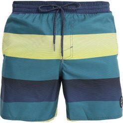 Kąpielówki męskie: O'Neill SANTA CRUZ STRIPE  Szorty kąpielowe  blue/yellow orange
