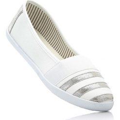Baleriny bonprix biało-srebrny. Czarne baleriny damskie marki Sinsay. Za 49,99 zł.