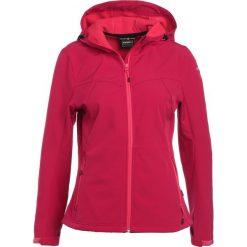 Icepeak LUCY Kurtka Softshell red. Czerwone kurtki damskie softshell marki Icepeak, z elastanu. W wyprzedaży za 209,25 zł.