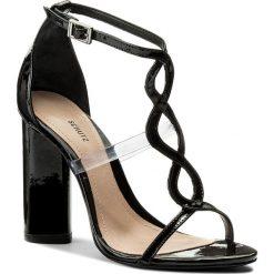 Rzymianki damskie: Sandały SCHUTZ – S 20435 0013 0001 U Black/Transparente