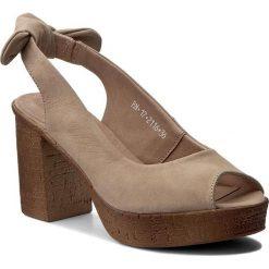 Rzymianki damskie: Sandały KARINO - 2116/001 Beż