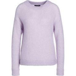 Swetry klasyczne damskie: Bruuns Bazaar ALMA Sweter pale purple