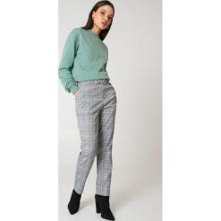 NA-KD Bluza Good Vibes - Green. Zielone bluzy damskie NA-KD, z napisami, z bawełny. Za 100,95 zł.