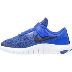 Nike Performance FLEX CONTACT Obuwie do biegania treningowe racer blue/black/white. Niebieskie buty sportowe chłopięce Nike Performance, z materiału. Za 209,00 zł.