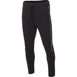 Spodnie dresowe męskie: Spodnie dresowe męskie SPMD216 – głęboka czerń