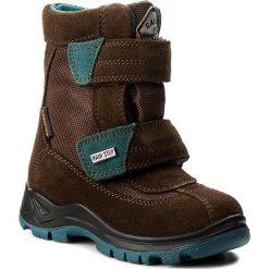 Buty zimowe chłopięce: Śniegowce NATURINO – 0013001228.01.9103 T.Moro/Petrolio Fondo Nero