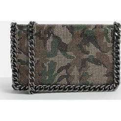 Missguided - Torebka. Szare torebki klasyczne damskie marki Missguided, w paski, z materiału, średnie. W wyprzedaży za 89,90 zł.