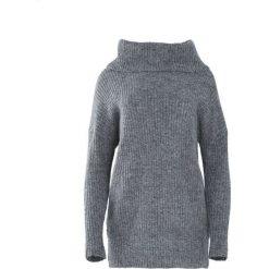 Szary Sweter Deluge. Szare swetry klasyczne damskie Born2be, na jesień, l, z golfem. Za 89,99 zł.
