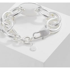 Bransoletki damskie na nogę: SNÖ of Sweden HANK BIG BRACE PLAIN  Bransoletka silvercoloured