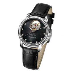 ZEGAREK EPOS Ladies 4314.133.20.85.15. Czarne zegarki damskie EPOS, ze stali. Za 5500,00 zł.