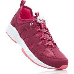 Buty wsuwane z pianką youfoam bonprix ciemnoczerwony. Szare buty sportowe damskie marki bonprix, z materiału. Za 89,99 zł.