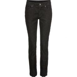 Dżinsy z haftem bonprix czarny denim. Niebieskie jeansy damskie marki House, z jeansu. Za 109,99 zł.