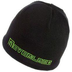 Czapki męskie: NEVERLAND Czapka męska Stormer czarno-zielona (P-04-STORMER-372-UNI)