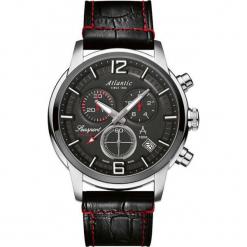 Zegarek Atlantic Zegarek męski Seasport 87461.42.45 Chronograf r. uniwersalny. Czarne zegarki męskie Atlantic. Za 1705,30 zł.