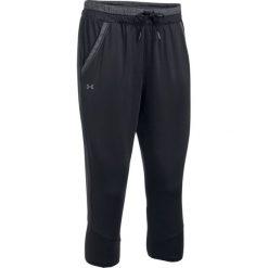 Spodnie sportowe damskie: Under Armour Spodnie damskie Armour Sport Crop czarne r. XS (1294192-001)