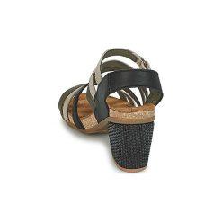 Sandały El Naturalista  MOLA. Czarne sandały trekkingowe damskie marki El Naturalista. Za 439,20 zł.