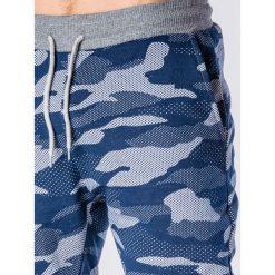 Spodnie dresowe męskie: SPODNIE MĘSKIE DRESOWE MORO P635 – GRANATOWE