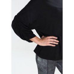 Free People HORIZON Bluzka z długim rękawem black. Czarne topy sportowe damskie Free People, s, z bawełny, sportowe, z długim rękawem. W wyprzedaży za 134,50 zł.
