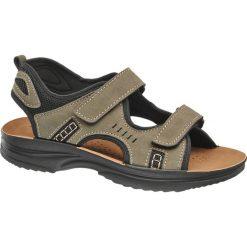 Sandały damskie: sandały męskie Memphis One brązowe