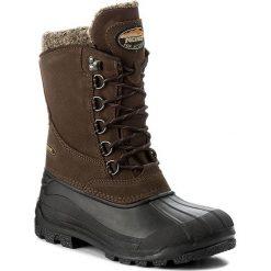 Śniegowce MEINDL - Soelden Lady 7774 990468 2 Braun 10. Czerwone buty zimowe damskie marki Reserved, na niskim obcasie. W wyprzedaży za 459,00 zł.
