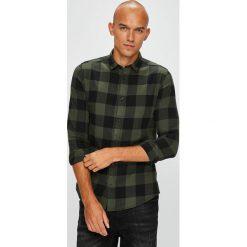 Only & Sons - Koszula 22007112. Czarne koszule męskie w kratę marki Only & Sons, m, z bawełny, z klasycznym kołnierzykiem, z długim rękawem. W wyprzedaży za 99,90 zł.