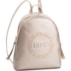 Torebka LIU JO - M Backpack Colorad N68215 E0037 Gold 00529. Żółte torebki klasyczne damskie marki Liu Jo, ze skóry ekologicznej. Za 599,00 zł.