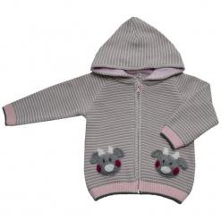 EKO Dziewczęcy Sweter W Pasy, 92, Jasnoróżowy. Czerwone swetry dziewczęce EKO. Za 93,00 zł.