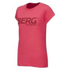 Bluzki asymetryczne: BERG OUTDOOR Koszulka OKMOK T-SHIRT różowa r. L (P-10-EL4320700SS14-103-L)