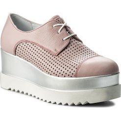 Sneakersy EVA MINGE - Onda 3G 18SM1372440ES 112. Czerwone sneakersy damskie Eva Minge, ze skóry. W wyprzedaży za 229,00 zł.